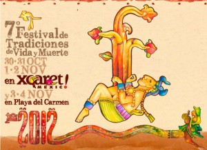 Xcaret Festival Vida y Muerte 2012