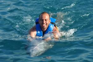Tour de delfines en Cancun